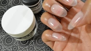 How To Gel Nails At Home (super Easy) Featuring Sheba Nails Gelcrylicsystem