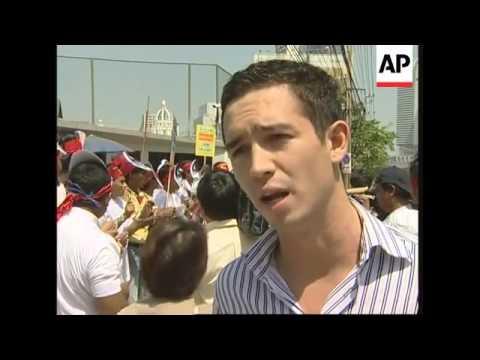 WRAP Protest against Myanmar junta on anniv. of Suu Kyi house arrest, Gambari in China