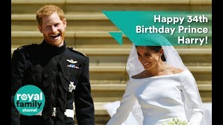 Happy 34th Birthday Prince Harry!