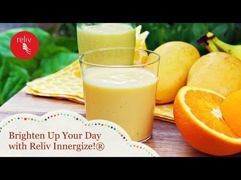 Brigthen Up Your Day with Reliv Innergize!®