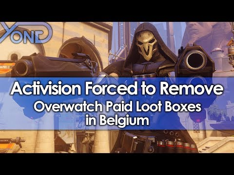 Activision Blizzard Forced to Remove Overwatch Paid Loot Boxes in Belgium