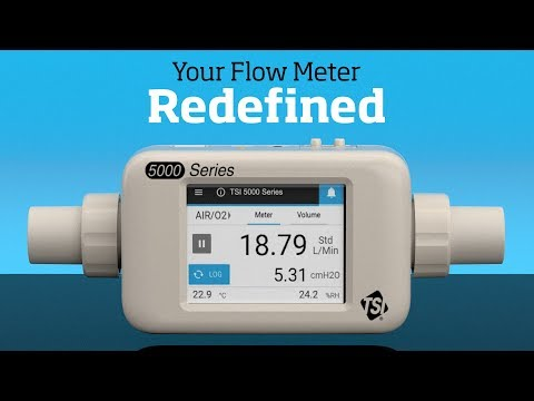 TSI's Next Generation Flow Meter