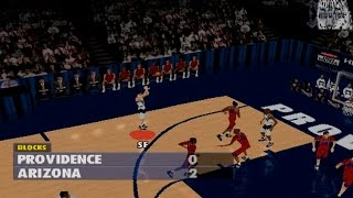 NCAA Basketball Final Four 97 Gameplay Exhibition Match (PS1,PSX)