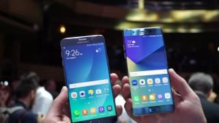 Quick Comparison: Galaxy Note 7 vs. Galaxy Note 5!
