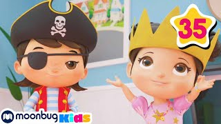 Download Dress Up Princesses, Pirates | How To Nursery Rhymes | Fun Learning | ABCs And 123s Mp3 and Videos