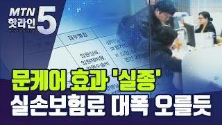 '문 케어' 재정 투입에도 효과 0%대...실손보험료 …