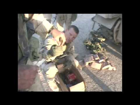 Iraq 2003 checkpoint in Tikrit