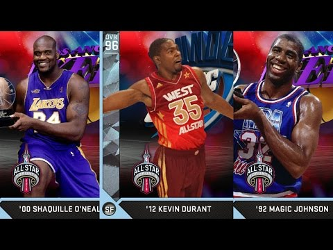 NBA 2K16 PS4 My Team - All-Star Pack Cheese!