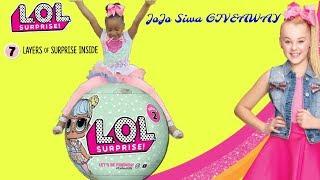JoJo Siwa Giveaway! New Lol Dolls Hunting Toys R Us Target thumbnail