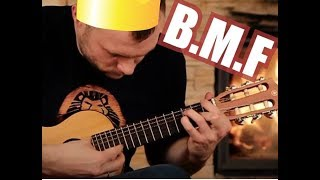 He told me that this GITALELE is impossible to play (BMF-Victor)