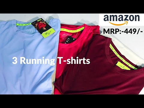 Best gym t shirts men (2021)   Polyester Made , Running, Sports/gym t shirts men Online   Dev Talks