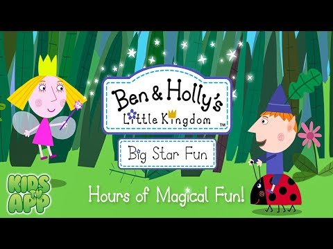 Ben and Holly: Big Star Fun (P2 Games Limited) - Best App For Kids