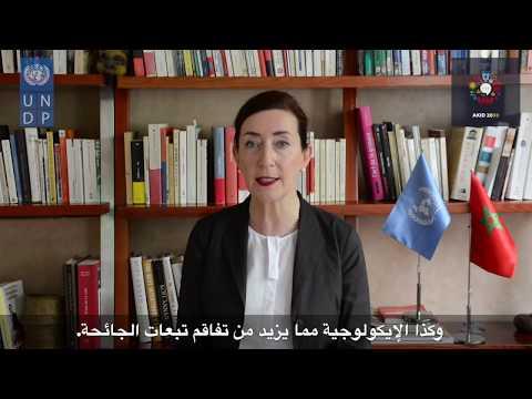 Plateforme AKID2030 - Message de Mme Martine Therer, Représente Résidente Adjointe PNUD Maroc
