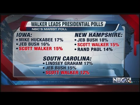 NBC/Marist Poll Shows Walker Among 2016 Republican Frontrunners