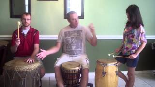How to do a drum circle call and response