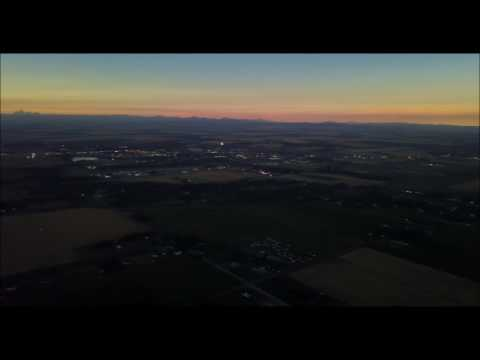 Drone View Solar Eclipse Rexburg Idaho Area During Eclipse