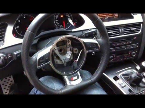 Smontaggio Volante Audi A4 B8 8k Youtube
