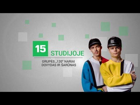 """15min studijoje — """"X Faktoriaus"""" nugalėjusios grupės """"120"""" nariai"""