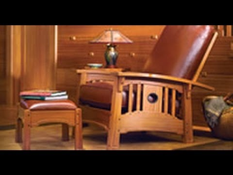 Merveilleux Stickley Morris Chair: Stickley Leather   YouTube