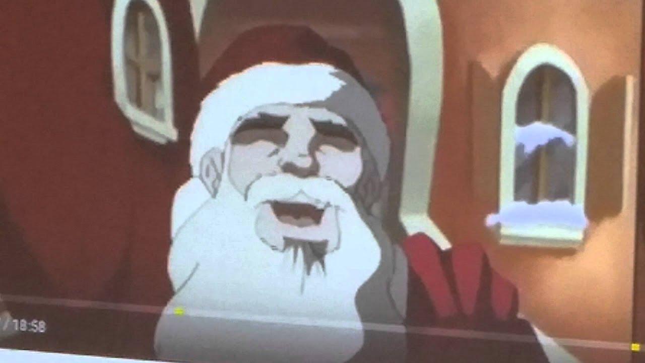 Boondocks Riley to Santa - YouTube