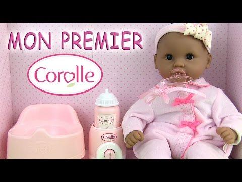 Corolle Poupée Baby Doll Mon Premier Bébé Calin Grand Coffret Accessoires Poupon