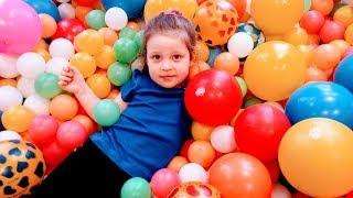 видео: Детский игровой комплекс, игровая площадка,картинг,бассейн с шариками,Playday Indoor playground fun