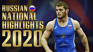 Russian National Championships 2020 highlights | WRESTLING