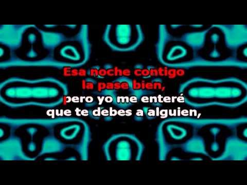 Lo que Pasó Pasó, con letra - Daddy Karaoke