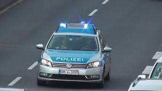 [RINGFAHNDUNGSEINSATZ] Polizei Koblenz im Ringeinsatz (HD)
