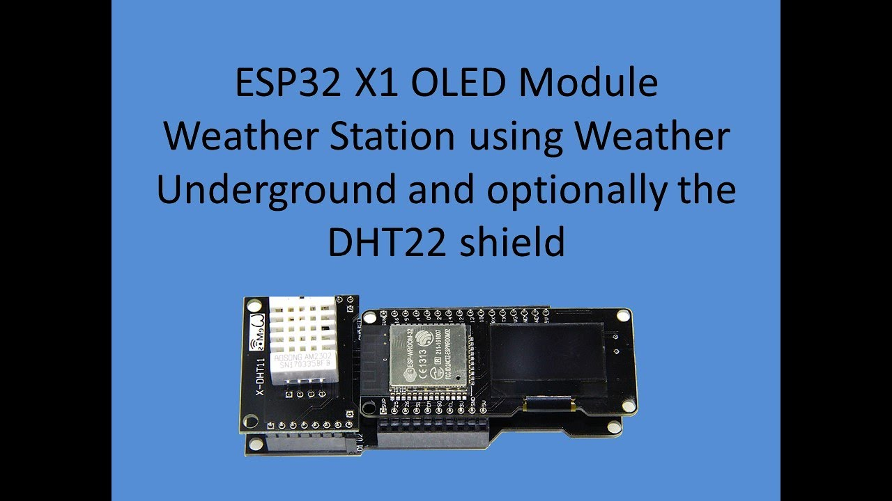 Tech Note 042 - ESP32 Weather Station (two code examples provided at GitHub)