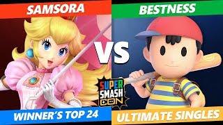 SSC 2019 SSBU - eUnited Samsora (Peach) VS Armada BestNess (Ness) Smash Ultimate Winner's Top 24