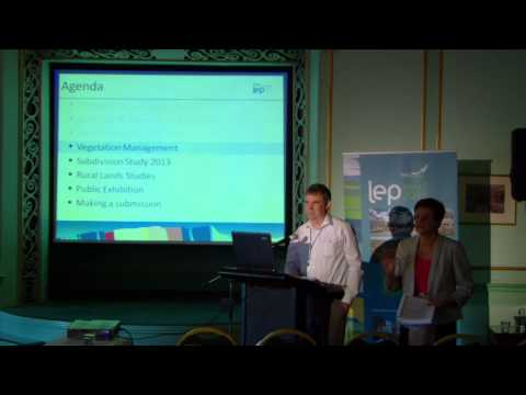 Blue Mountains Draft LEP 2013 Information Session: Rural Issues