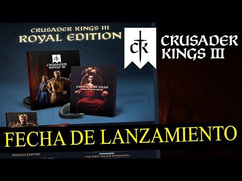 FECHA DE LANZAMIENTO y la ROYAL EDITION de CRUSADER KINGS 3 (y EXPANSION PASS)