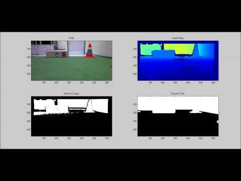 Ground Plane Detection Using Kinect Sensor -DS11 Results