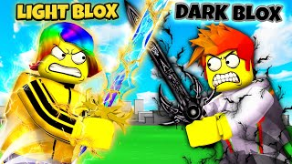 Roblox BROTHER LUCKY BATTLE $100,000 ROBUX DUEL 😇👿