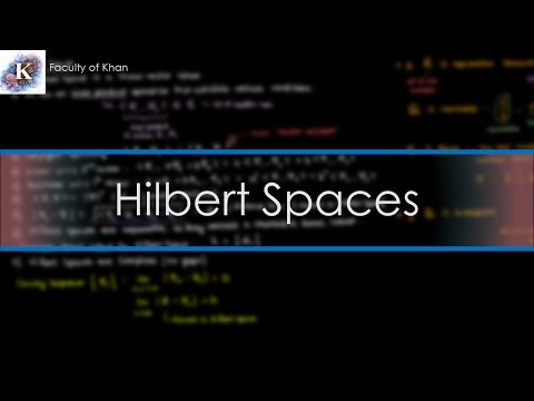 An Introduction to Hilbert Spaces