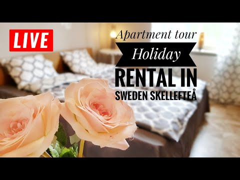Apartment Tour Holiday rental in Sweden Skellefteå