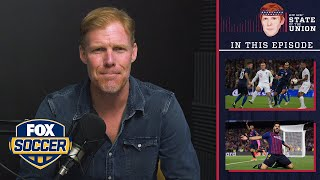 Soccer vs. football, Barcelona, Man U, USWNT | EPISODE 59 | ALEXI LALAS' STATE OF THE UNION PODCAST