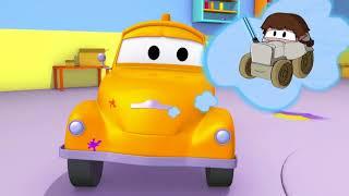 Henry ist der Fisch Nemo - Die Lackierwerkstatt von Tom dem Abschleppwagen 🎨 Cartoons für Kinder