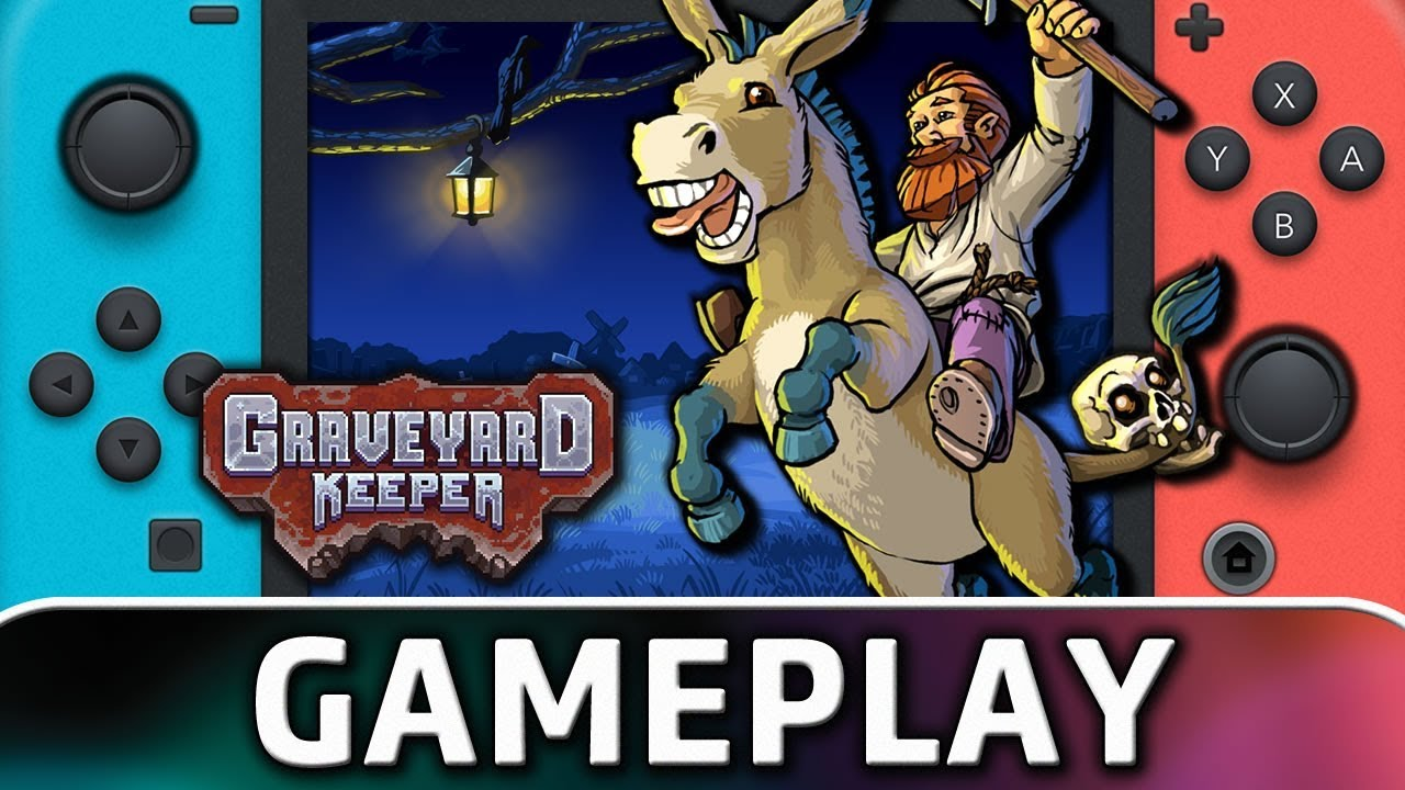 Graveyard Keeper | First 20 Minutes on Nintendo Switch