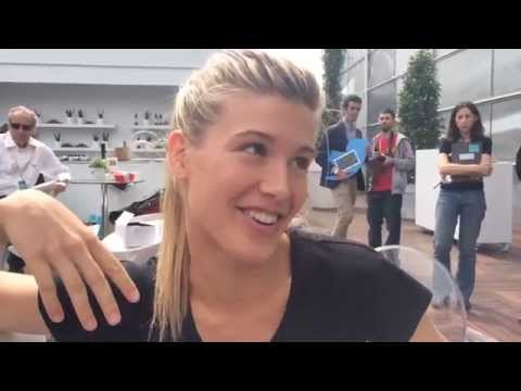 GENIE BOUCHARD IN SPANISH: