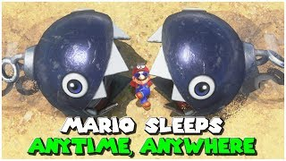 25 Comfy Sleeping Spots - Super Mario Odyssey