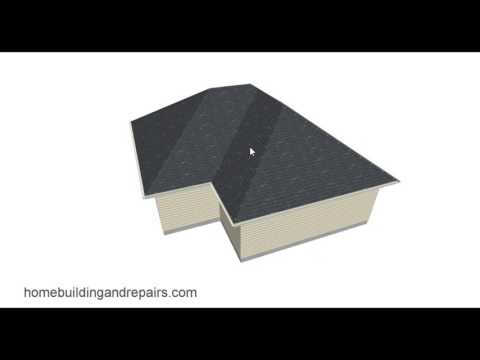 Roof Plan for Home Addition with Existing Hip Roof - Building Design Tips
