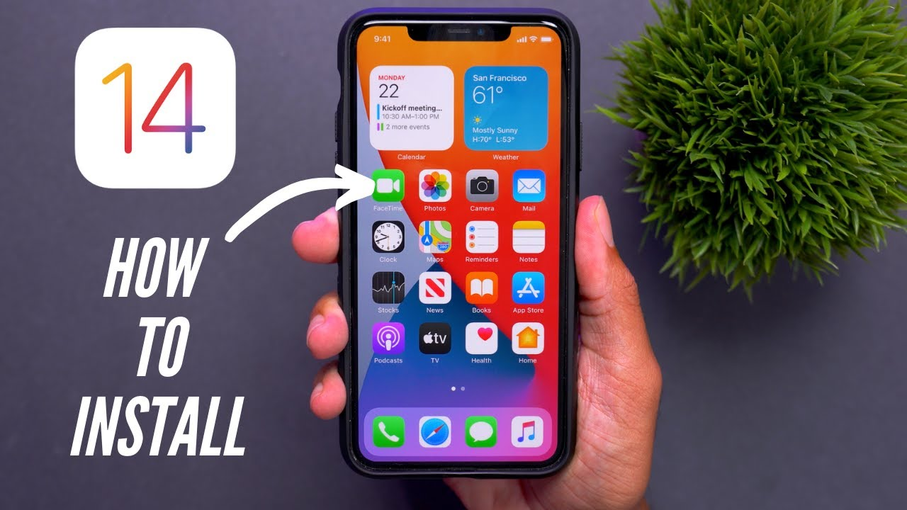 Install iOS 14 and iPadOS 14 starting tomorrow. We show you how ...