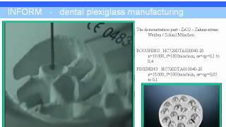 Fresas para mecanizado de circonio, titanio, Cromo Cobalto, PMMA para el sector dental