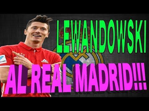 REAL MADRID // NOTICIAS -- ROBERT LEWANDOWSKI POSIBLE FICHAJE!!!