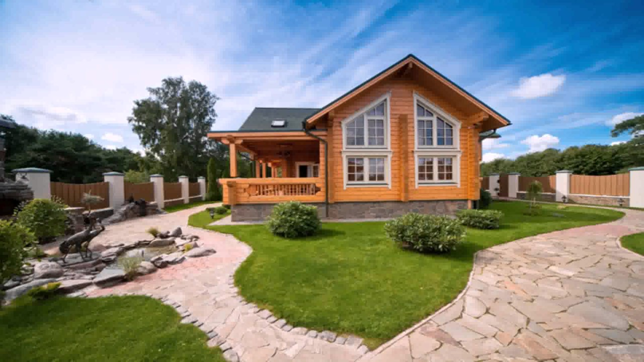 Modern country style house designs youtube for Modern country house