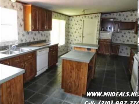 Asking Price: $32,000 2002 Palm Harbor Value Mas Double-wide Manufactured  Home- SAN ANTONIO, TX 7825