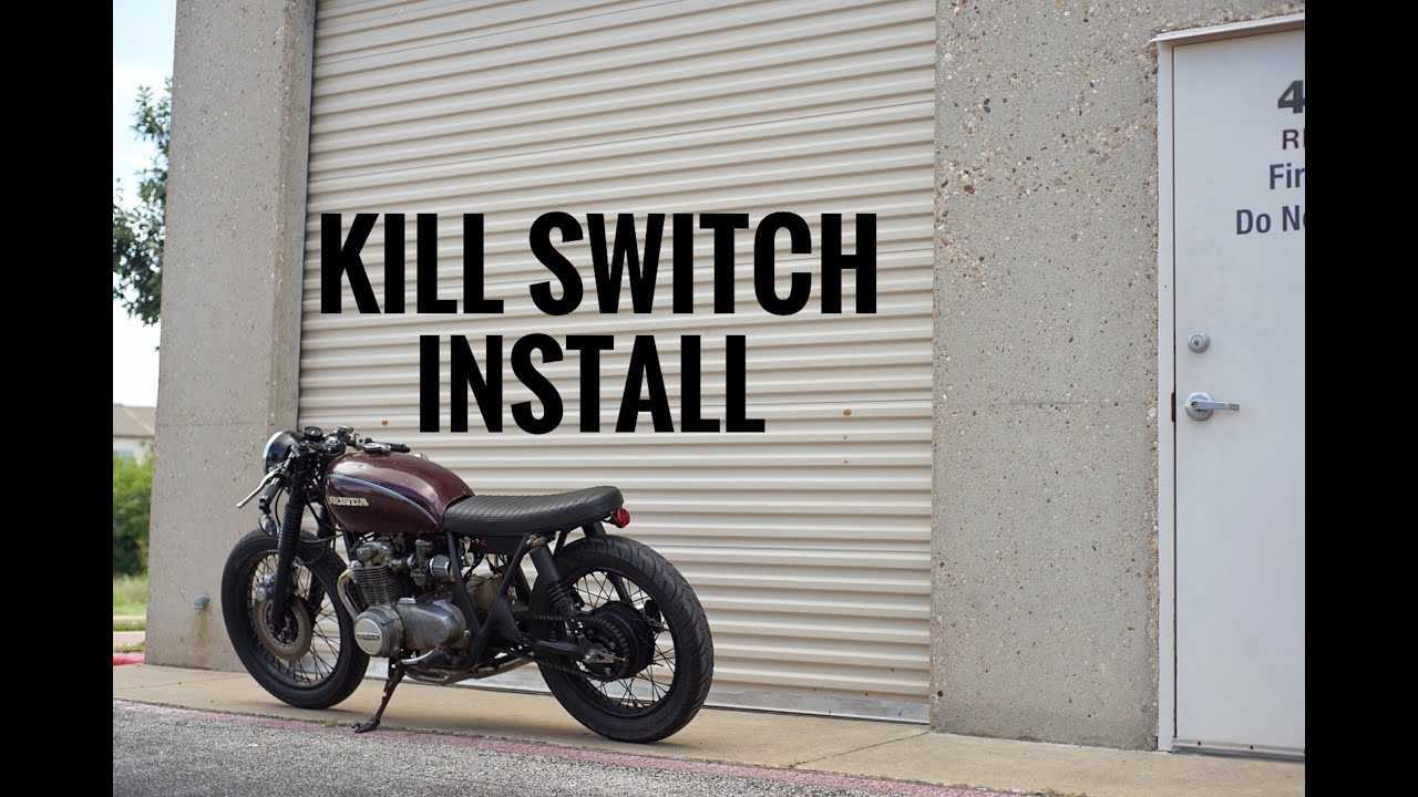 How To Install A Kill Switch Cb550 Youtube Wiring