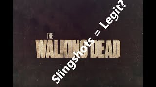 """""""The Walking Dead"""" Slingshot Mythbusting Extreme"""